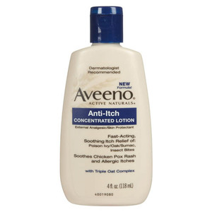 Aveeno Active Naturals Anti-Itch Concentrated Lotion