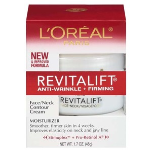 L'Oreal Paris Revitalift, Anti-Wrinkle, Firming Face and Neck Contour Cream
