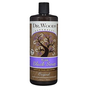 Dr. Woods Raw Black Soap