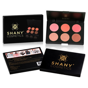 SHANY Cosmetics Fuchsia 6 Color Blush Palette