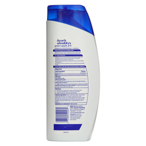 Head & Shoulders Green Apple 2-in-1 Dandruff Shampoo And Conditioner