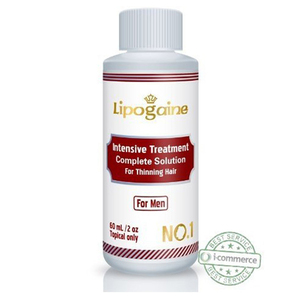 Lipogaine Intensive Treatment Complete Solution for Thinning Hair