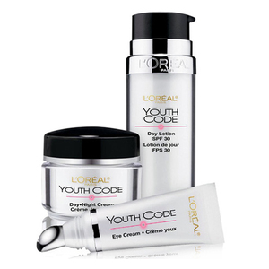 L'Oreal Paris Youth Code Regenerating Skincare Kit