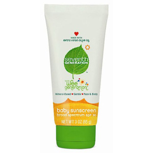 Seventh Generation Baby Sunscreen Lotion