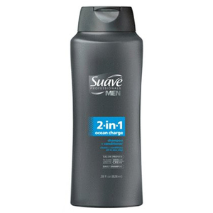 Suave Men 2-in-1 Ocean Charge Shampoo and Conditioner