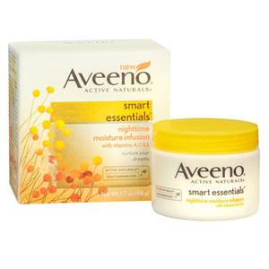 Aveeno Active Naturals Smart Essentials Nighttime Moisture Infusion