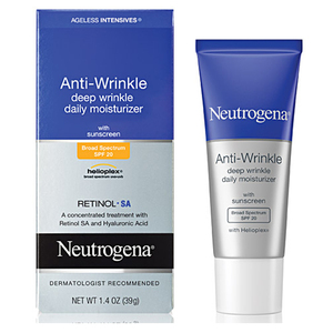 Neutrogena Ageless Intensives Anti-Wrinkle Deep Wrinkle Daily Moisturizer