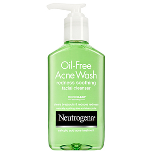 Neutrogena Oil-Free Acne Wash Redness Soothing Facial Cleanser