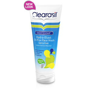Clearasil Daily Clear Hydra-Blast Oil-Free Face Wash Sensitive
