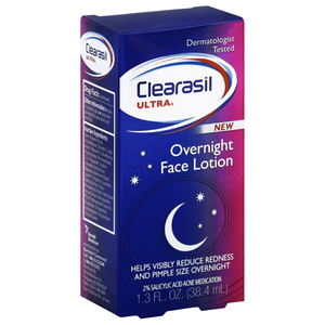 Clearasil Ultra Overnight Face Lotion