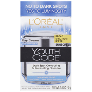 L'Oreal Paris Youth Code Dark Spot Correcting & Illuminating Skincare Cream