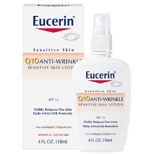 Eucerin Q10 Anti-Wrinkle Sensitive Skin Lotion
