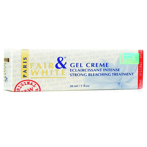 Fair & White Paris Gel Creme Strong Bleaching Treatment
