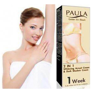 Paula Golden Skin Bleach 2 in 1 Whitening Armpit Cream & Dark Shadow Cream