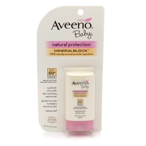 Aveeno Baby Natural Protection Face Stick with Broad Spectrum SPF 50