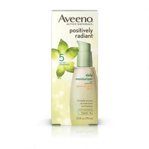 Aveeno Positively Radiant Daily Moisturizer Broad Spectrum
