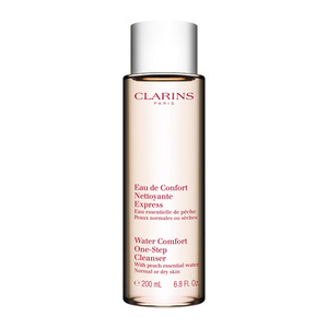Clarins Paris Water Comfort One-Step Cleanser with Peach Essential Water