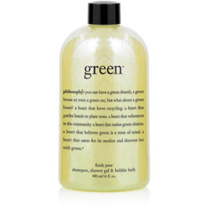 Philosophy Green Fresh Pear Shampoo, Shower Gel & Bubble Bath