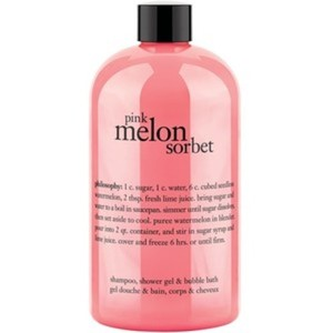Philosophy Pink Melon Sorbet Shampoo, Shower Gel & Bubble Bath