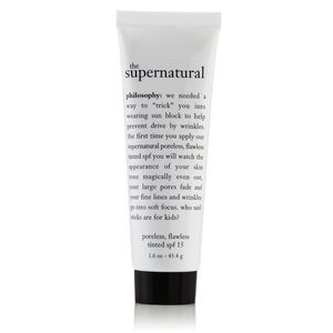 Philosophy The Supernatural Poreless, Flawless SPF 15 Tinted Primer