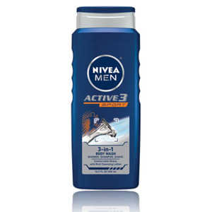 Nivea Active3 Sport 3-in-1 Body Wash