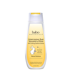Babo Botanicals Moisturizing Baby Shampoo and Wash