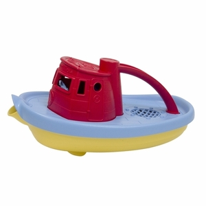 California Baby Bath Toy/Basket Stuffer: Tug Boat
