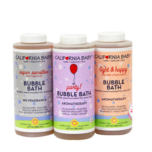 California Baby Bubble Bath Fun Trio