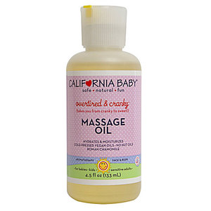 California Baby Overtired & Cranky Massage Oil