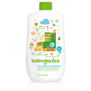 BabyGanics Floor Cleaner Concentrate, Fragrance Free