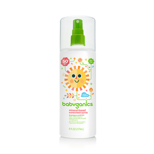 BabyGanics Mineral-based Sunscreen Spray, 50+spf