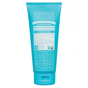 Dr. Bronner's Baby & Sensitive Skin Care Fair Trade & Organic Unscented Shaving Gel