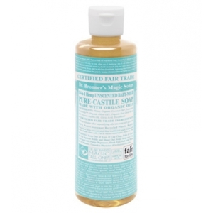 Dr. Bronner's Unscented Baby-Mild Castile Liquid Soap