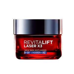 L'Oreal Paris Revitalift Laser X3 Night Cream-Mask