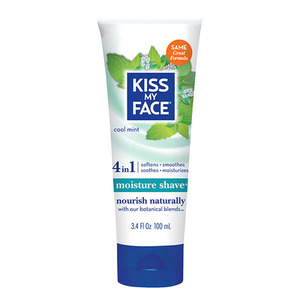 Kiss My Face Cool Mint Shaving Cream