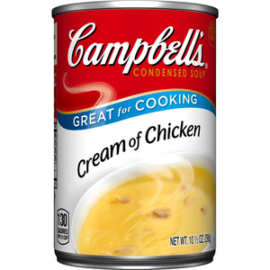 Campbells Condensed Soup Cream of Chicken 298g