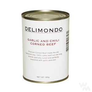 Delimondo Garlic & Chili Corned Beef 380g