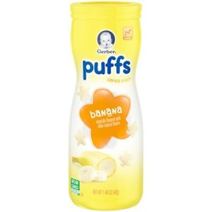 Gerber Puffs Banana Cereal Snack 42g