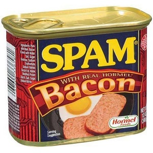 Hormel Spam Luncheon Meat with Real Hormel Bacon 340g