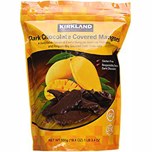 Kirkland Signature Dark Chocolate Covered Mangoes 550g