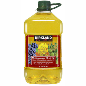 Kirkland Signature Mediterranean Canola, Olive & Grape Seed Blend Oil