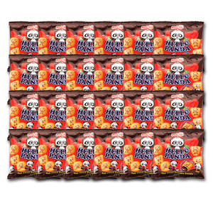 Meiji Hello Panda Biscuits with Chocolate Flavored Fillings 24 Pack (35g per pack)