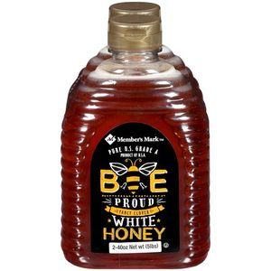 Member's Mark Pure US Grade A Bee Proud Fancy Clover White Honey 1.13kg