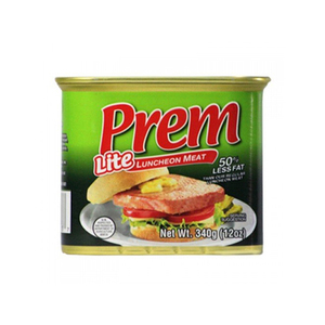 Prem Lite Luncheon Meat 50% Less Fat 340g