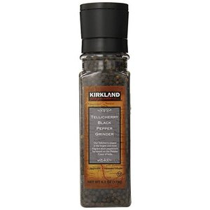 Kirkland Signature Tellicherry Black Pepper Grinder 178g