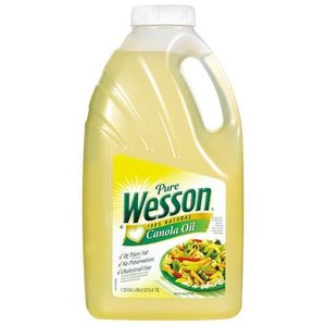 Wesson 100% Natural Canola Oil 4.73L