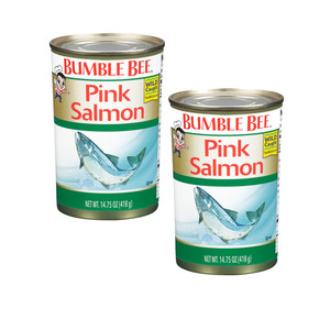 Bumble Bee Premium Wild Pink Salmon 2 Pack (418g per pack)
