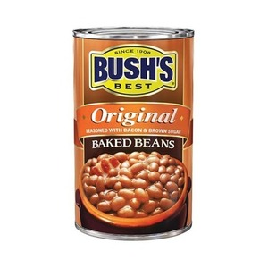 Bush's Best Original Baked Beans Seasoned with Bacon & Brown Sugar 6 Pack (468g per pack)
