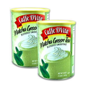 Caffe D' Vita Matcha Green Tea Blended Smoothie 2 Pack (1.36kg per pack)