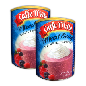 Caffe D' Vita Mixed Berry Blended Fruit Smoothie 2 Pack (1.36kg per pack)